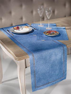 Saint Clair Σουπλά 3007 Blue Jean  45x33