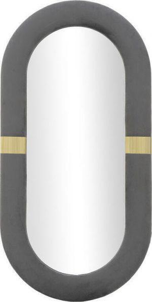 INART -ΚΑΘΡΕΠΤΗΣ ΤΟΙΧΟΥ ΒΕΛΟΥΔΙΝΟΣ ΓΚΡΙ 40Χ2Χ80
