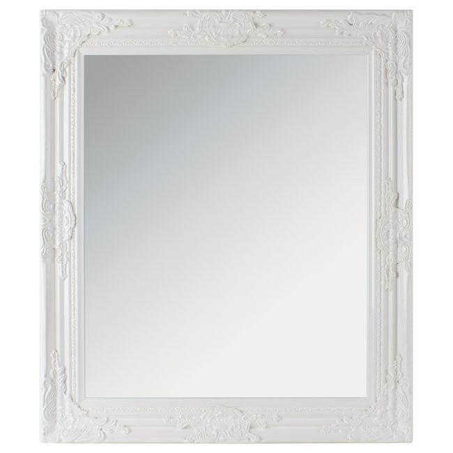 Καθρέπτης Polyresin Λευκός 64x2x74 - InArt σχ. 3-95-261-0065