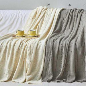 Kentia Κουβέρτα Ακρυλική Καναπέ 130x150 Serra Stylish 26
