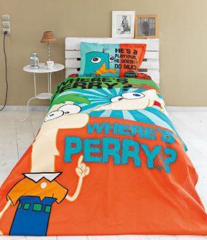Σετ Πάπλωμα Ημίδιπλο Palamaiki  DISNEY 170x250 κωδ.Phineas & Ferb
