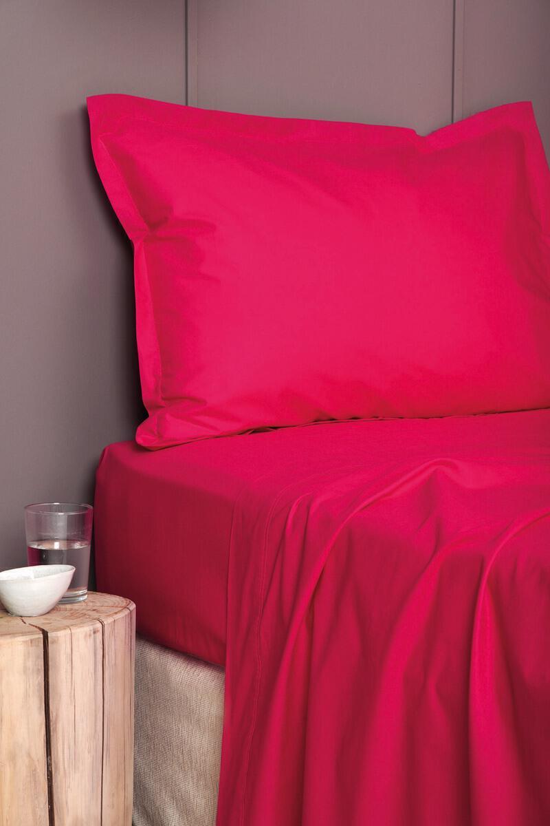 Σεντονι Χωρίς Λάστιχο Colour Rainbow Ημιδιπλο 170x260 COLOUR RAINBOW Red Palamaiki