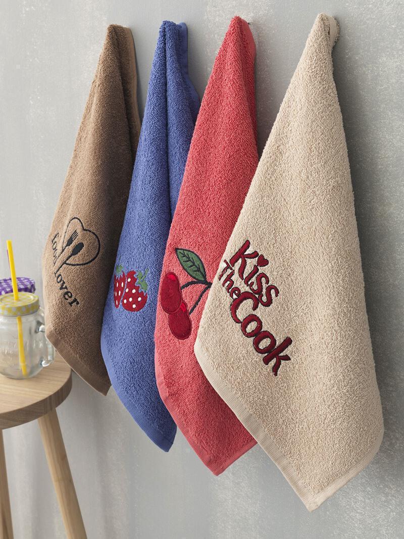 Σετ 4 Τμχ  Πετσετες  Kitchen Towels Κουζίνας 40x60 KT040  Palamaiki