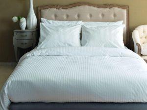 Τμχ Μαξιλαροθήκη  Palamaiki White Comfort 50x75 κωδ.WHITE STRIPES