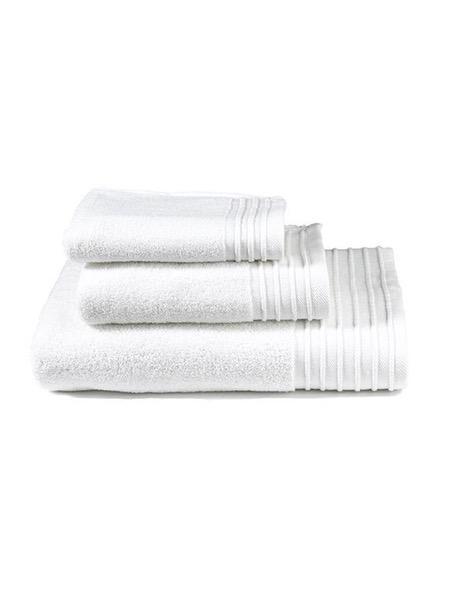 Σετ Πετσέτες (40x60 + 50x100 + 90x145) Feel Fresh White σχ.11809 Nima