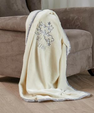 Κουβερτα Αγκαλιας 80χ110 Velour Fleece Kentia Baby Dream 55106