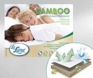 La Luna Επίστρωμα Κούνιας Bamboo 70x140+15