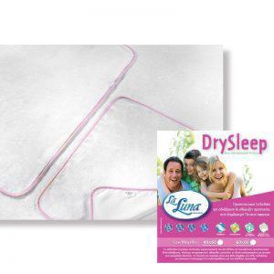 La Luna Σελτεδάκι Κούνιας DrySleep Ροζ 60x80