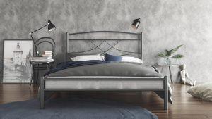 Chic Strom Μεταλλικό Κρεβάτι Emma Ημίδιπλο 110x200