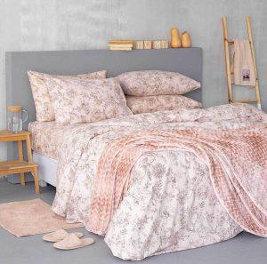 Σετ Σεντονια Ημιδιπλα Palamaiki Flannel Beauty FB0206 170x265