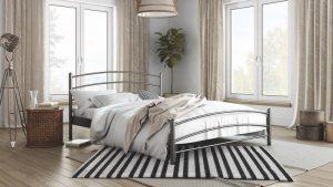 Chic Strom Μεταλλικό Κρεβάτι Κέλλυ Διπλό 140x200