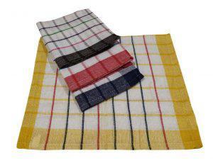 Σετ Ποτηρόπανα 4τεμ.ΚΟΜΒΟΣ Υφαντό 100% Cotton 40x60 Διάφορα Χρώματα