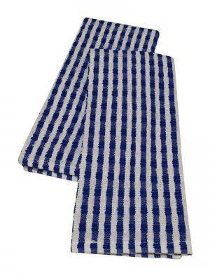 Σετ Ποτηρόπανα 2τεμ.ΚΟΜΒΟΣ πετσετέ 100% Cotton BASIC 40x60 Blue