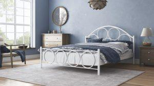 Chic Strom Μεταλλικό Κρεβάτι Ορφέας Μονό 90x200