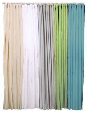 Viopros Κουρτίνα Μπάνιου 180x180 Λευκό