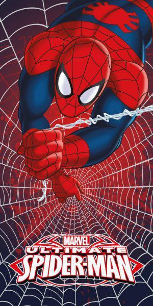 Viopros Πετσέτα Σώματος 70x140 Spiderman 5 Πολύχρωμο