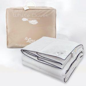 La Luna Λευκό Πάπλωμα Μονό The White Goose Duvet 160x220