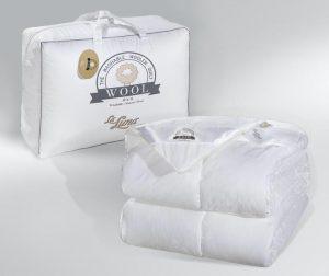 La Luna Λευκό Πάπλωμα Μονό The Wool Natural Duvet 160x220