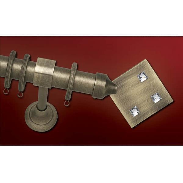 Κουρτινόβεργα Φ25 Αφροδίτη Metal Αντικέ Anartisi 61725