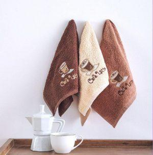 Πετσετα Κουζινας  3x30x50 Coffe Time No5 Sb home