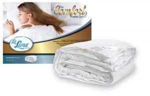 La Luna Λευκό Πάπλωμα Μονό Comfort Goose Quilt 160x220
