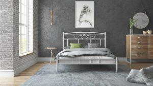 Chic Strom Μεταλλικό Κρεβάτι Isabella Μονό 90x200