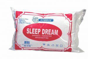Μαξιλάρι Ύπνου ΚΟΜΒΟΣ Standard Line 45x65 550gr