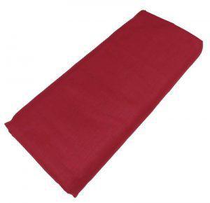 Σεντόνι ΚΟΜΒΟΣ Κόκκινο μονόχρωμο Μονό με Λάστιχο 100x200+20