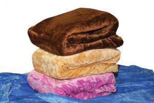 Κουβέρτα ΚΟΜΒΟΣ Velour Flannel Lilac Μονή 160x220 400gsm