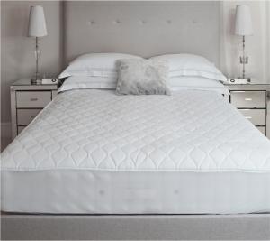 Επίστρωμα Καπιτονέ Le Blanc Cotton 100% διπλό 160x200+30