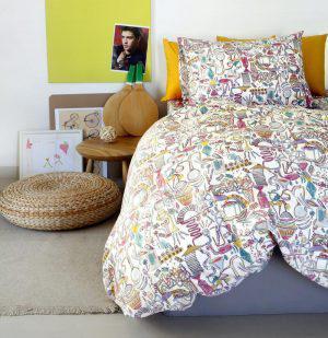 Melinen Σετ Παπλωμα Μονό 160x240 Kids Line Dream Maker Girl