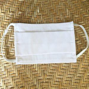 Melinen Υφασμάτινη Μάσκα Προστασίας Σετ 100 Τεμ White/Λευκή
