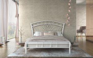 Chic Strom Μεταλλικό Κρεβάτι Nefeli Ημίδιπλο 110x200
