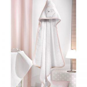 Σετ Βρεφικές Πετσέτες Saint Clair Bebe Lapin Pink Σετ 2τμχ (40χ60-65χ120)