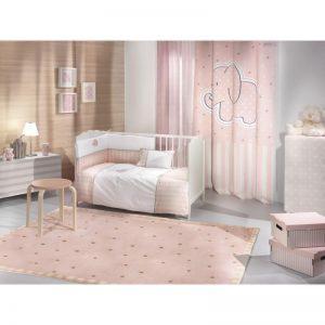 Κουρτίνα Saint Clair Soft-touch Africa Pink 160x250