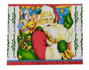 Σετ 4τμχ Σουπλά 39Χ45 ΚΟΜΒΟΣ  Santa Claus