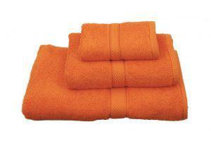 Viopros Πετσέτα Χεριών 30x30 Classic Πορτοκαλί