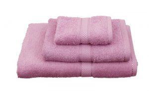 Viopros Πετσέτα Χεριών 30x30 Classic Ροζ