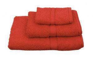Viopros Πετσέτα Χεριών 30x30 Classic Κόκκινο